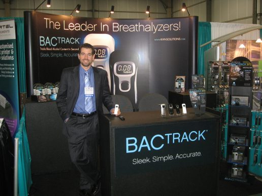 BACtrack 10×20 Conference Booth Graphics 2008