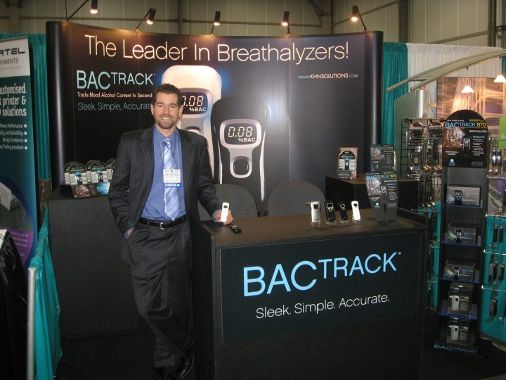 BACtrack 8x8 Conference Booth Graphics 2008