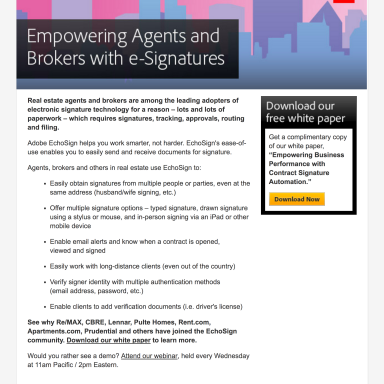 adobe-echosign-real-estate-campaign-email
