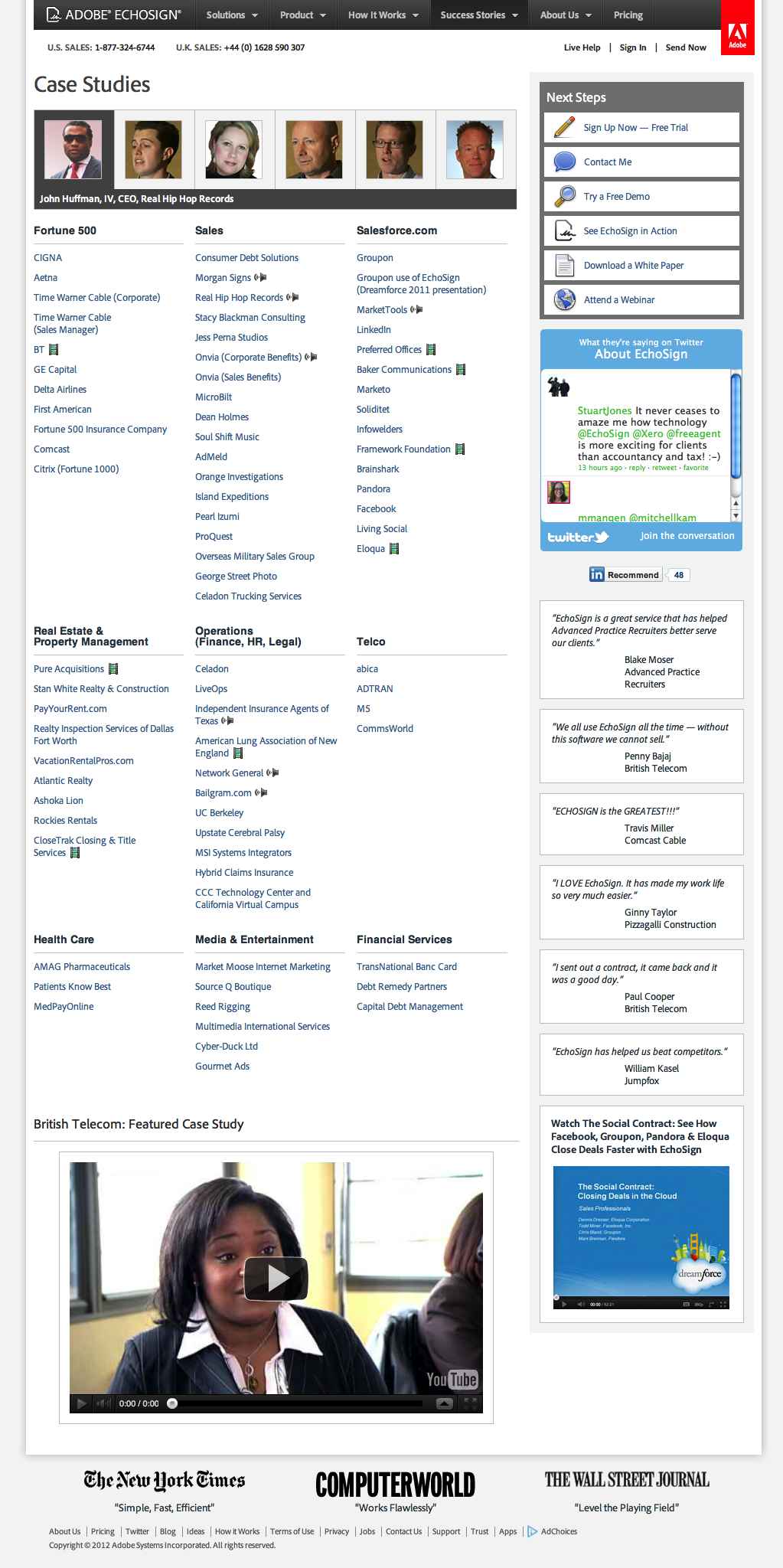 image showing page design after redesign