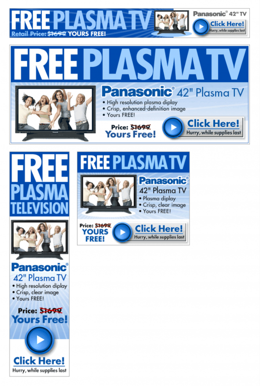 adteractive-freegiftworld-plasma-tv-girls-banner-ad-previews