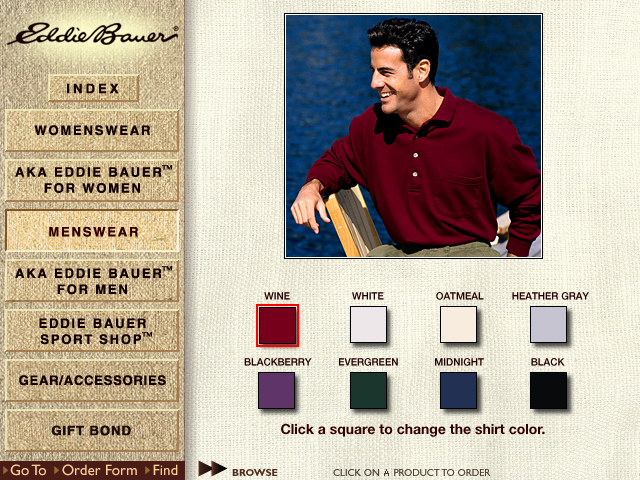 AOL 2Market CD Eddie Bauer Home Product Template