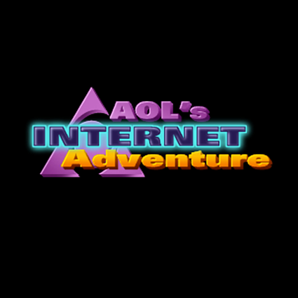 AOL Internet Adventure Logo
