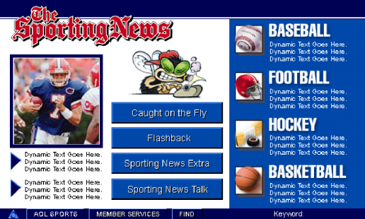 aol-the-sporting-news-01-main-menu-screen