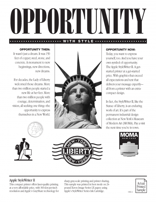 apple-printer-sample-for-stylewriter-ii-opportunity