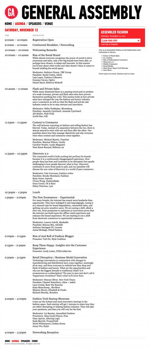 assembled-fashion-website-agenda-page