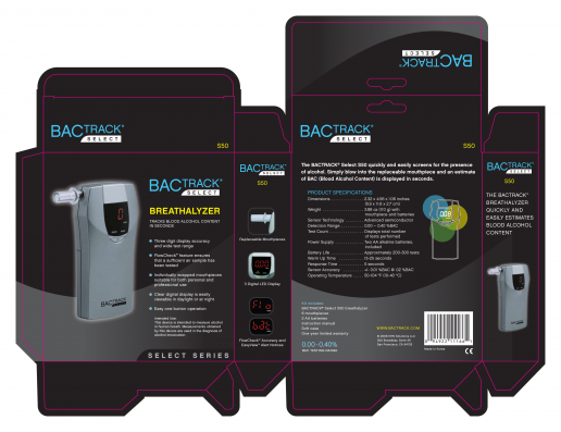 bactrack-select-s50-box-packaging-design