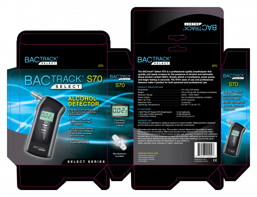 bactrack-select-s70-box-packaging-design