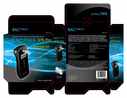 bactrack-select-s75-pro-box-packaging-design
