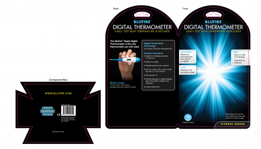 blufire-digital-thermometer-clamshell-header-card-packaging-design