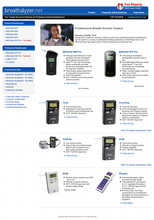breathalyzer-net-professional-breathalyzers-page-design