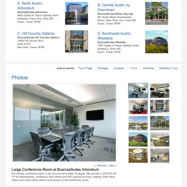 BusinesSuites Virtual Offices Page - version 2