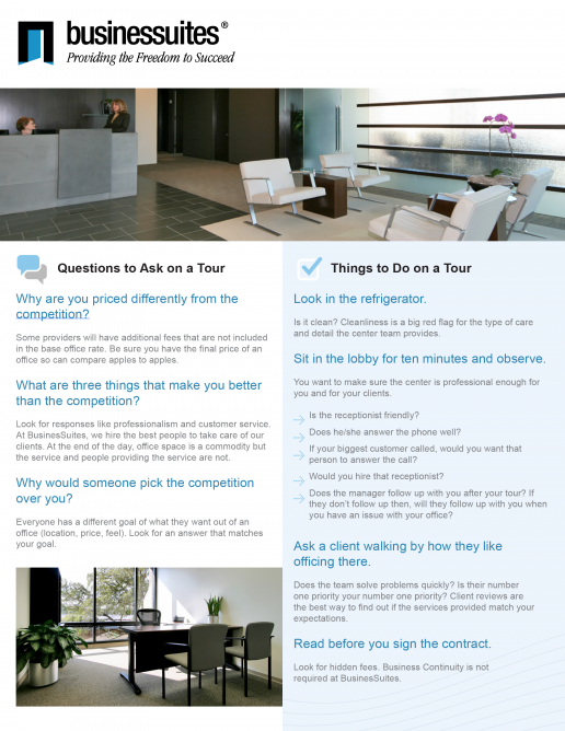businessuites-printed-flyer-handout-for-potential-customers