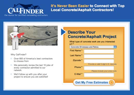 calfinder-concrete-and-asphalt-landing-page-mockup