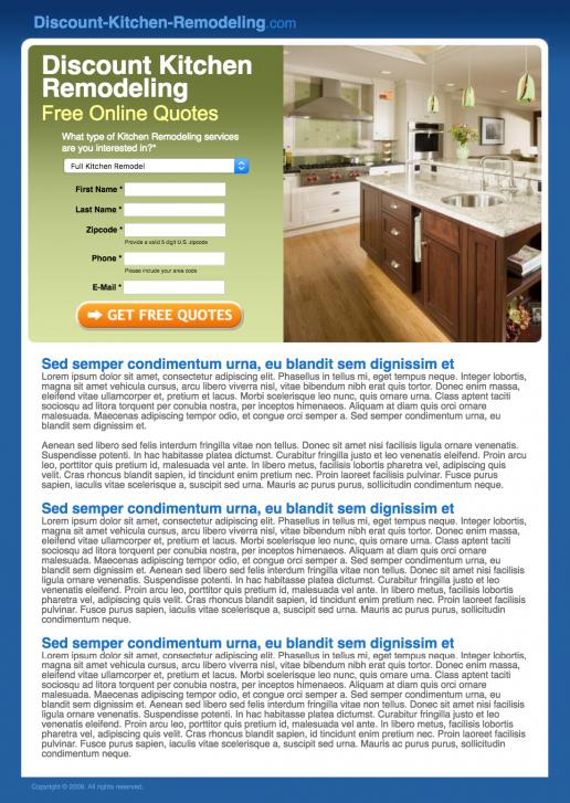calfinder-discount-kitchen-remodeling-landing-page