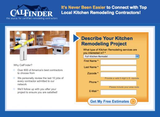 calfinder-kitchen-remodeling-landing-page-mockup