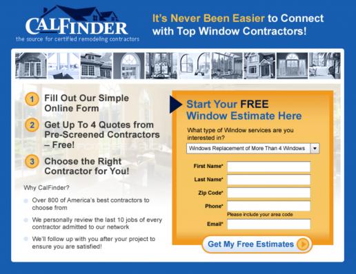 calfinder-landing-page-design-1-step-signup-version-2