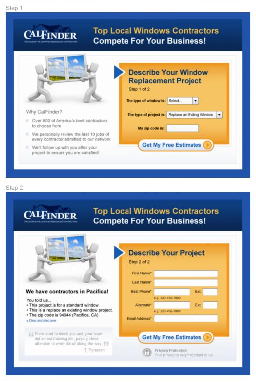 calfinder-landing-page-design-2-step-signup-version-1-previews