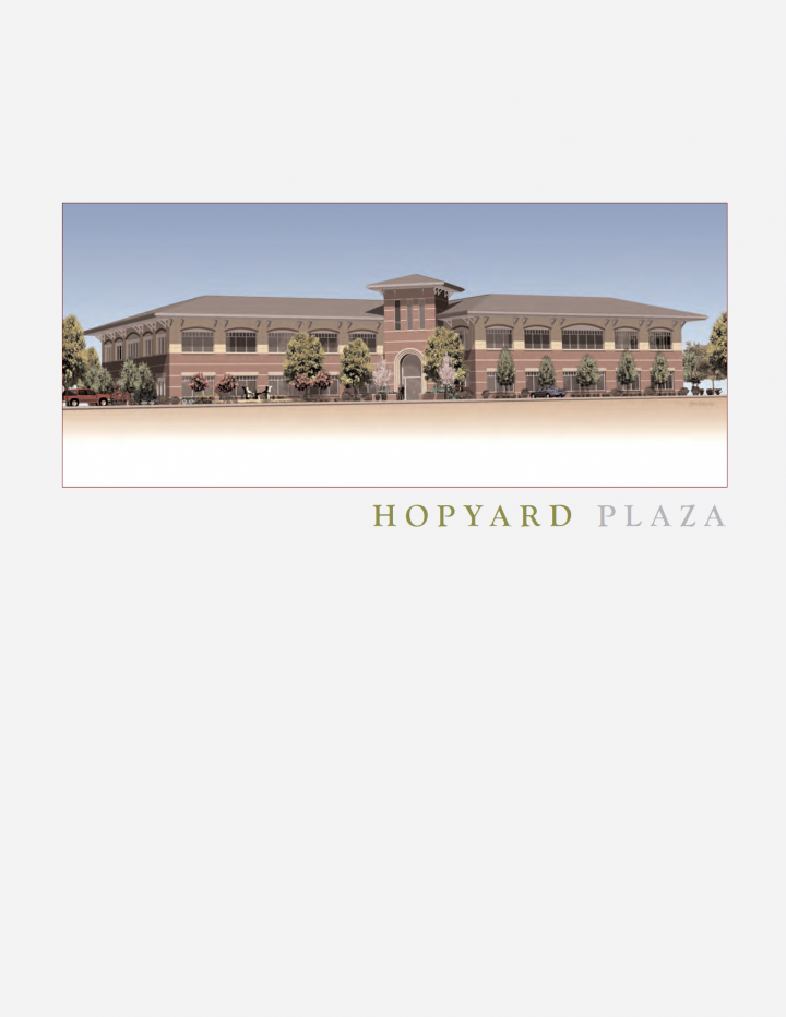 Chamberlin Associates Hopyard Plaza Office Space Real Estate Brochure