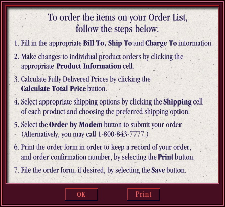 How To Order Modal Overlay