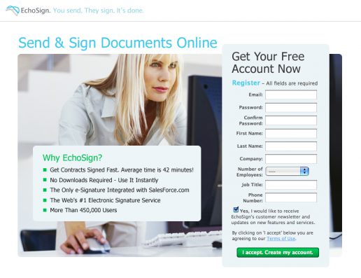 echosign-lead-capture-landing-page-design-version-with-womain