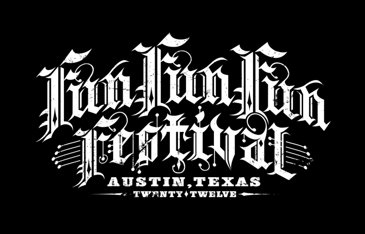 FunFunFun Festival T-shirt Submission - Black Stage Reversed