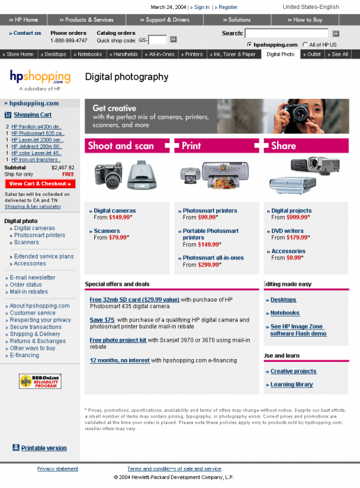hpshopping-digital-photography-solutions-landing-page
