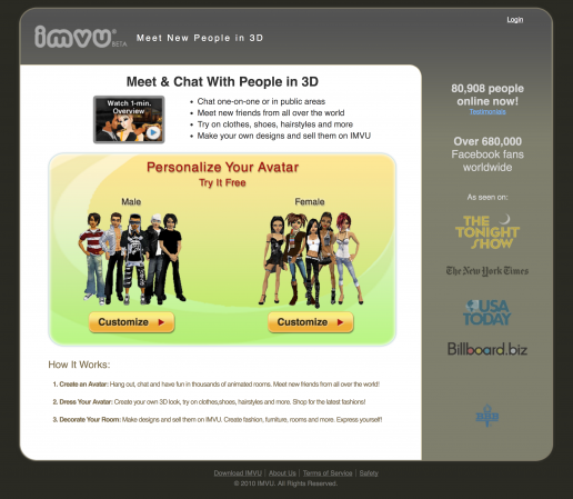 imvu-3d-chat-site-tuners-landing-page-version-01