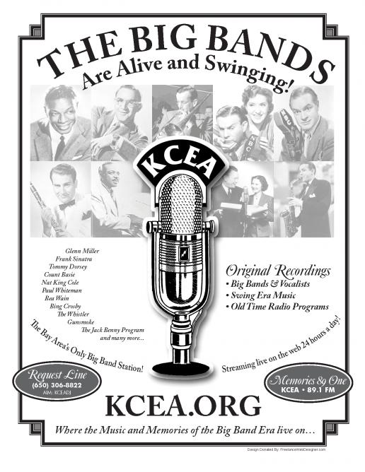 KCEA Radio 89.1 FM Flyer Mailer – Front