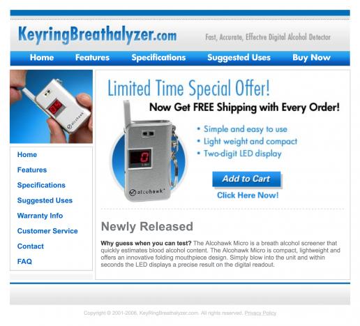 keyring-breathalyzer-microsite-website-homepage