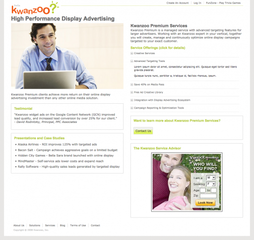 kwanzoo-website-design-premium-services-information-page
