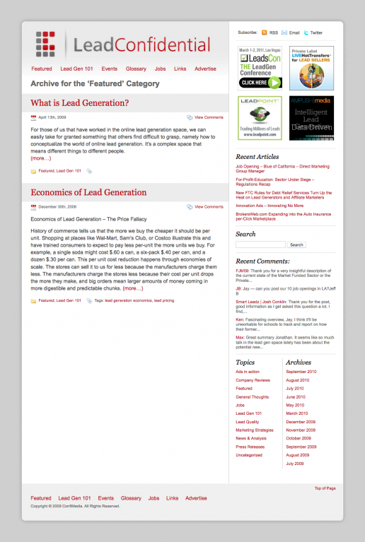 leadconfidential-website-design
