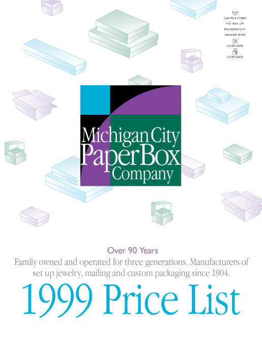 michigan-city-paper-box-company-1999-price-list-cover
