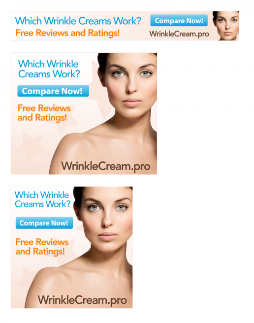 ppcassociates-wrinkle-cream-stars-banner-ad-previews