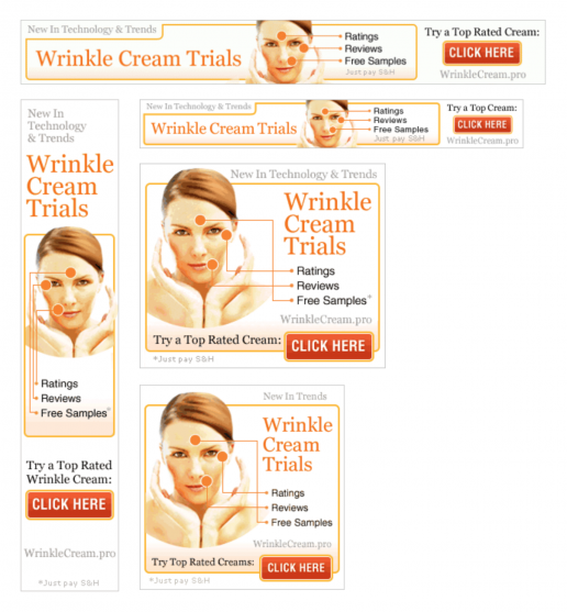 ppcassociates-wrinkle-cream-trials-banner-ad-previews