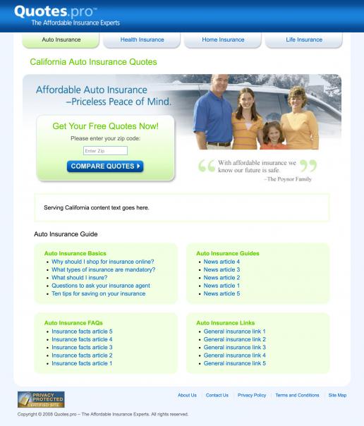quotes-pro-website-design-california-auto-insurance