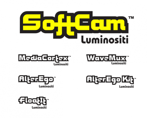 SoftCam Logos for Product Family
