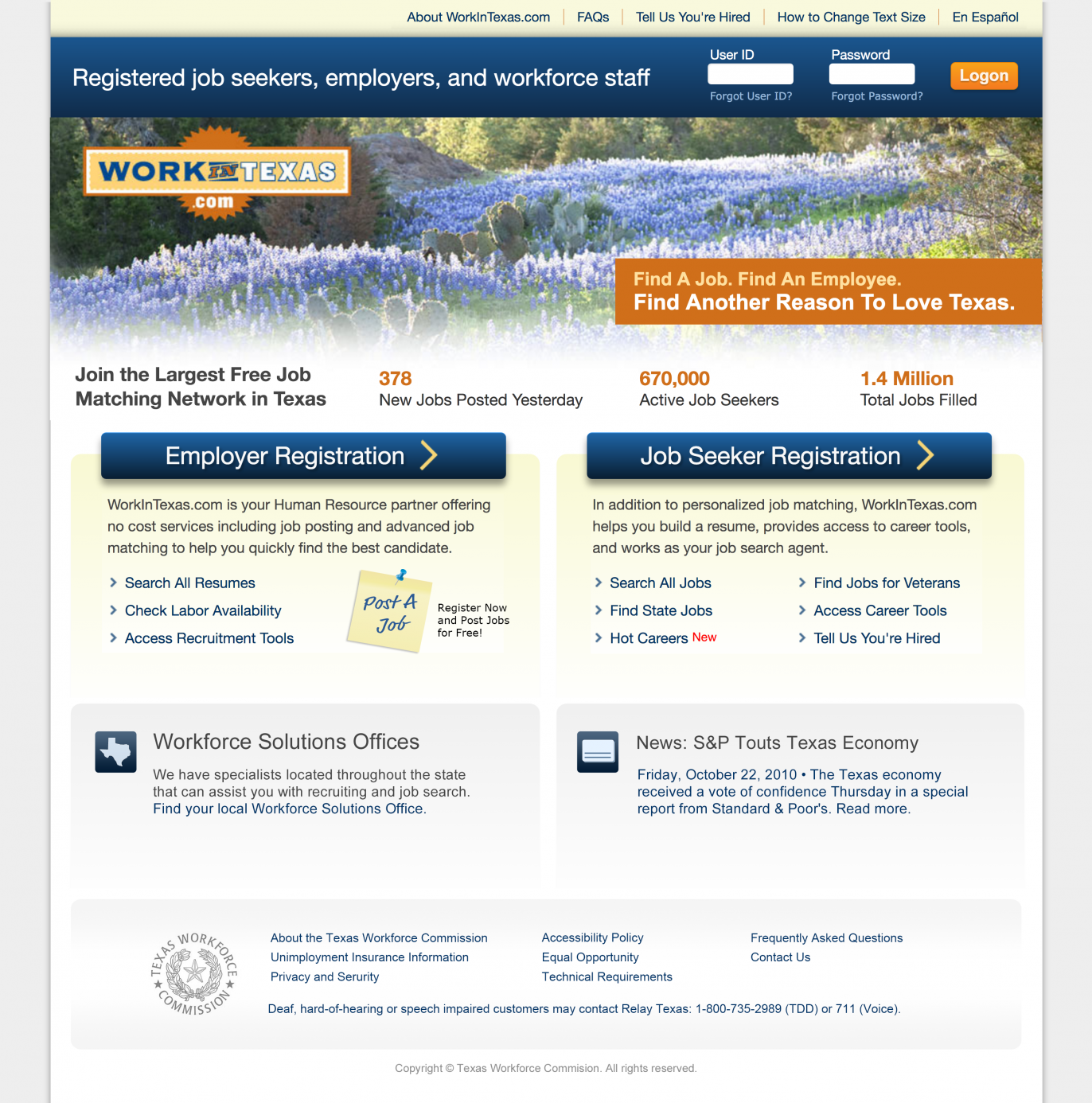 image showing homepage design