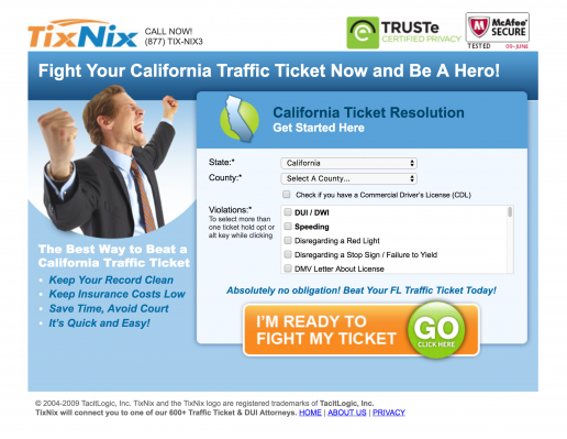 tixnix-landing-page-state-based-traffic-ticket-california