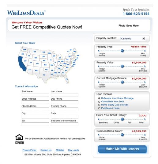 yahoo-webloandeals-loan-configurator-concept-mockup