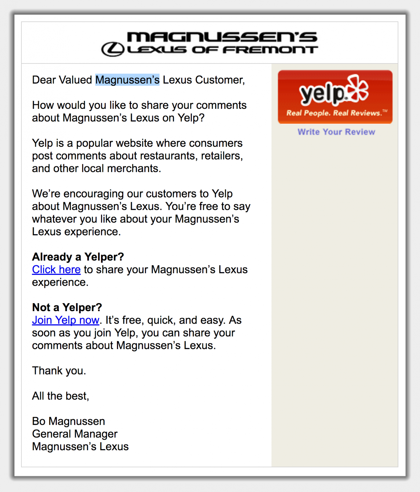 Project Detail View Example For Customers Of Magnussens Lexus In