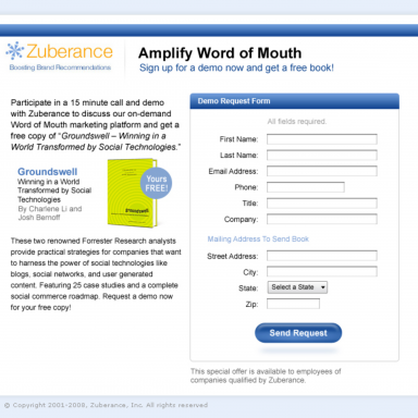 zuberance-word-of-of-mouth-groundswell-book-campaign-landing-page-design